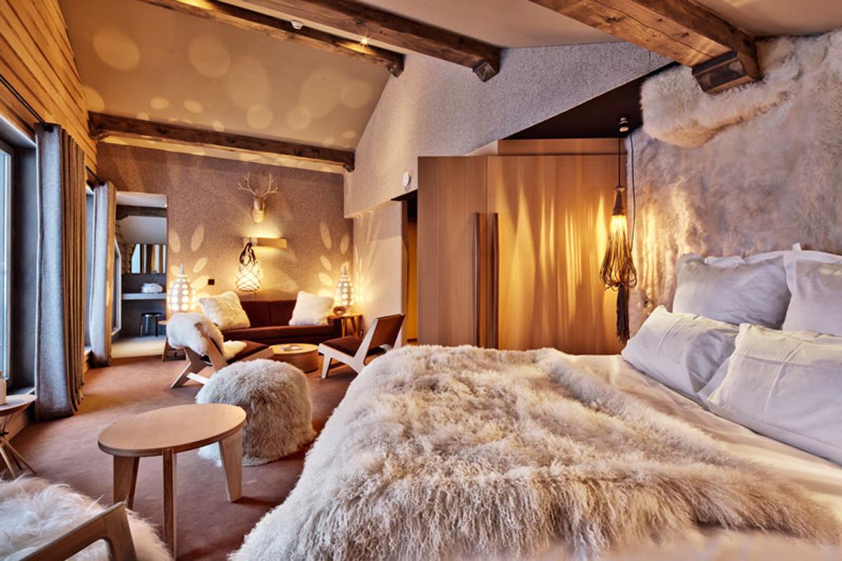 hôtel luxe 3 vallees