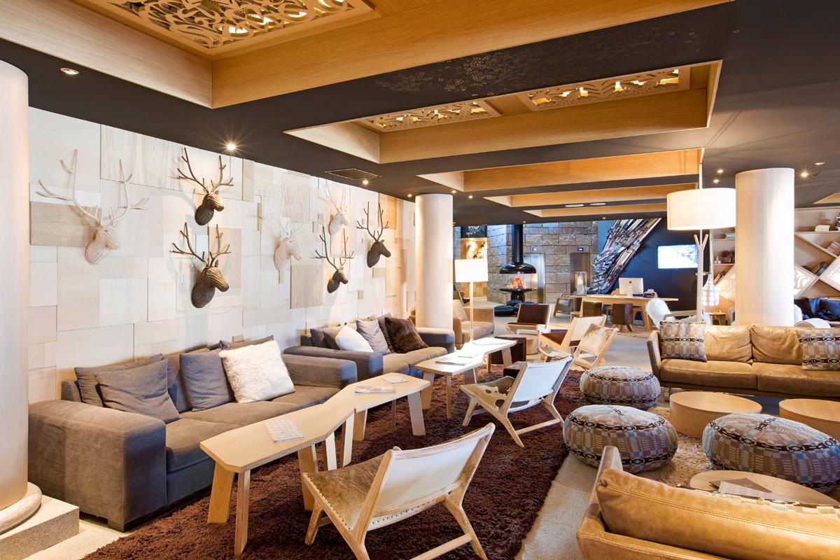 Altapura h tel de luxe val thorens s jour ski aux 3 for Design hotel vals