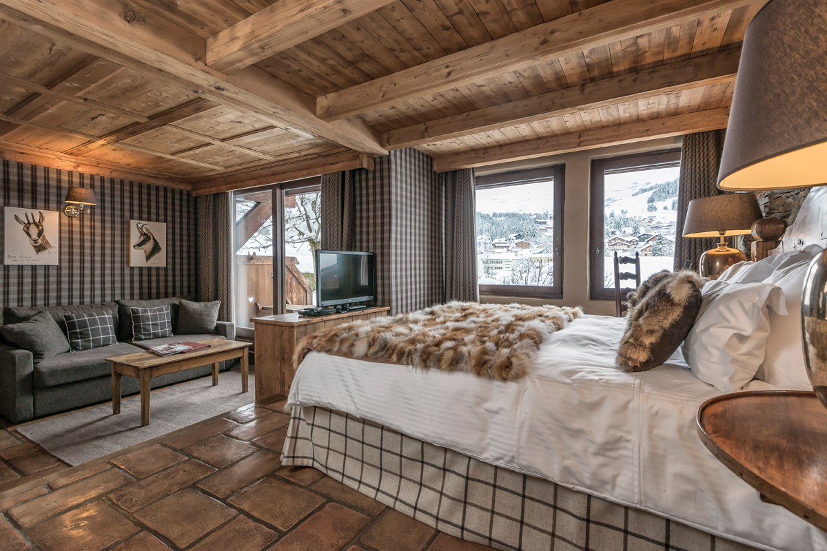 Les fermes de marie chambres suites et chalets hotel for Le salon du coin plouharnel