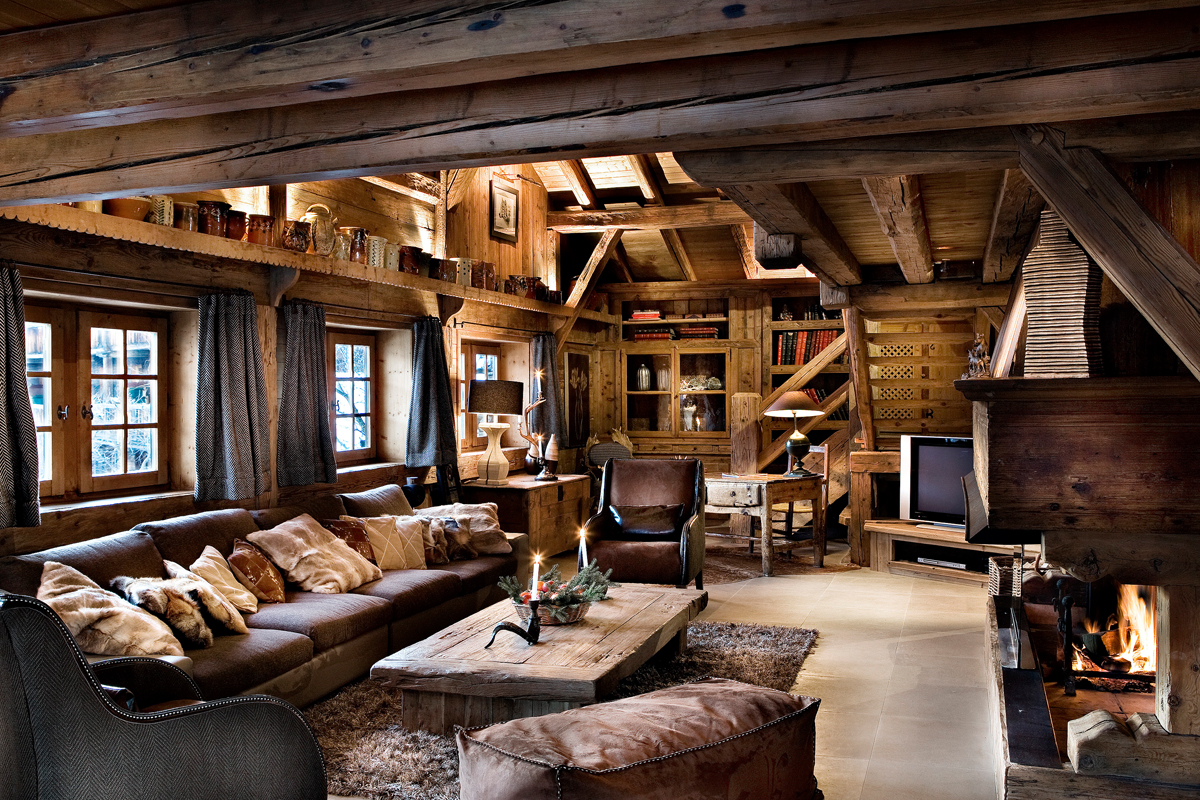 Les chalets des fermes de marie location de luxe megeve for Le belle salon