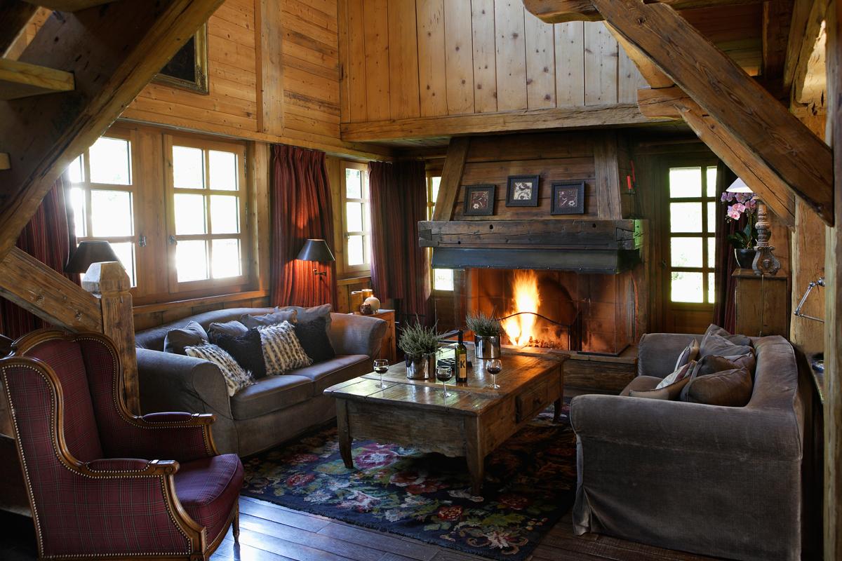 Les chalets des fermes de marie location de luxe megeve for Location luxe