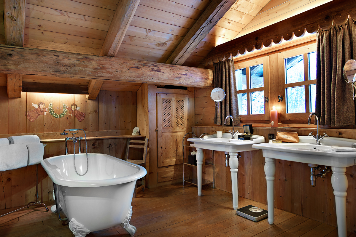 Beautiful Salle De Bain Chalet De Montagne Gallery - Bikeparty.us ...